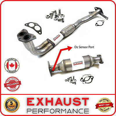 Fits 2006 Outlander Front Wheel Drive Exhaust System Pipe /& Muffler System