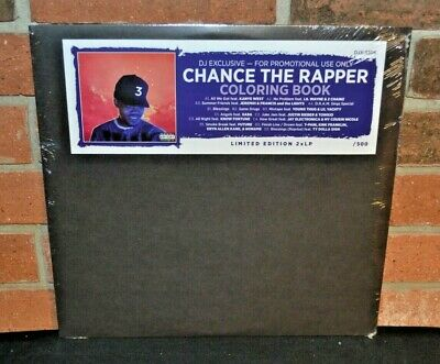CHANCE THE RAPPER - Coloring Book, Limited Import 2LP COLORED VINYL New & Sealed