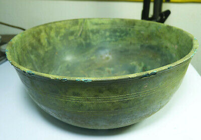 Vietnamese antique Dong Son Culture Bronze Bowl