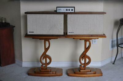 Bose 901 Custom Hand-Made Music Clef Stands - Pure Class & Quality Craftsmanship