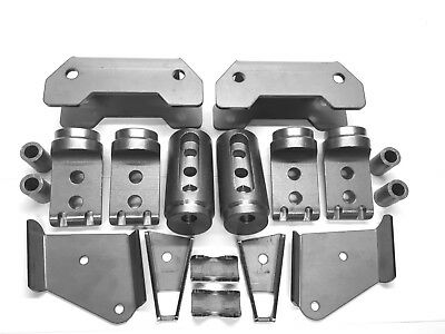 """Polaris RZR Bungs XP1000 Turbo S 4 seat Cage Connectors Adapters kit 1 3/4"""" .095"""
