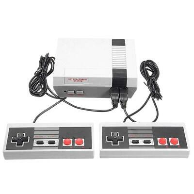 Retro Handheld 4 Keys TV Games Console w/2 Controller 620 Classic Games for NES