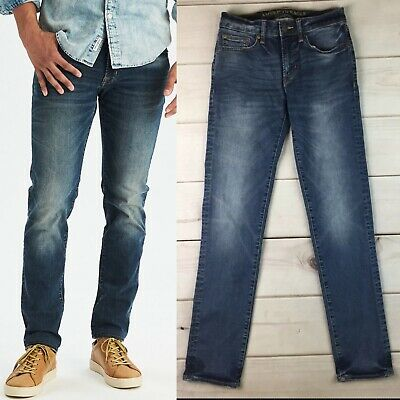 American Eagle Outfitters Men's 28 Stretch Extreme Flex Slim Straight Jeans