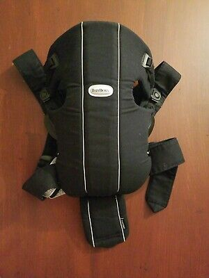 BabyBjorn Baby Carrier Miracle 100% Cotton Black/Silver, 5 bibs, free sandals