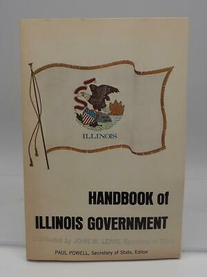 Vintage Handbook To Illinois Government Booklet 1970