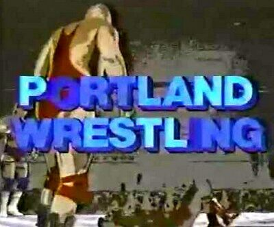 40 Pro Wrestling DVDs: PORTLAND / PACIFIC NORTHWEST WRESTLING from the 80's!
