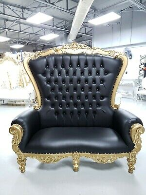 Fine Diana Queen King High Back Royal Wedding Party Throne Chair Gamerscity Chair Design For Home Gamerscityorg