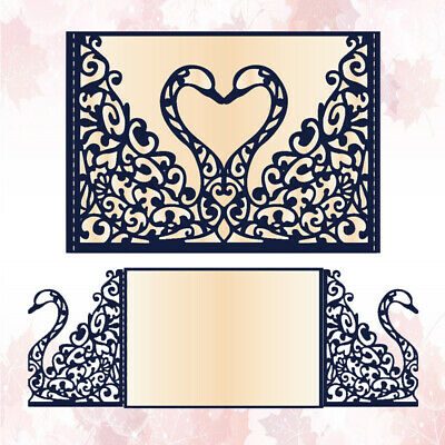 Wedding Invitation Cutting Die Scrapbooking Craft Die Cut Cards Making Diy Arts