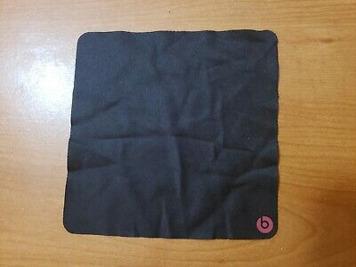 OEM Genuine Black Cleaning Cloth for Monster Beats Headphones Dr Dre accessory