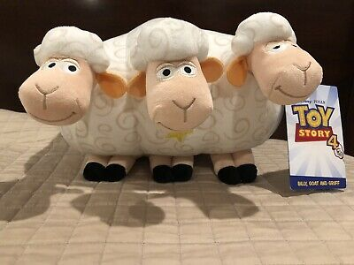 Toy Story 4 Bo Peep Sheep Plush Billy Goat & Gruff Pixar NWT Disney Parks