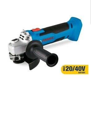 Ferrex  40V Cordless Angle Grinder Body Only In Box