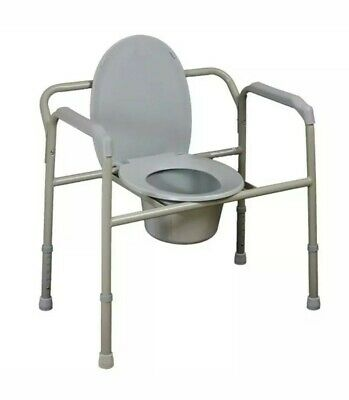 Bariatric Over Toilet Aid/Commode Chair 270kg Weight limit Brand new.