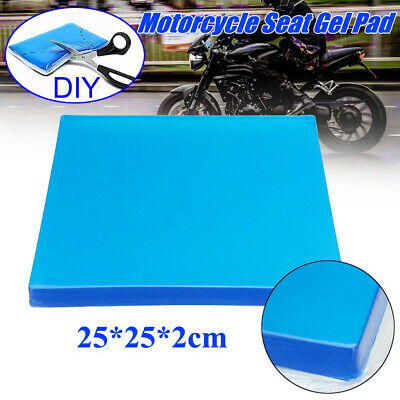 Comfort Motorcycle Seat Gel Pad Shock Absorption Mats Cushion Accessories US NEW
