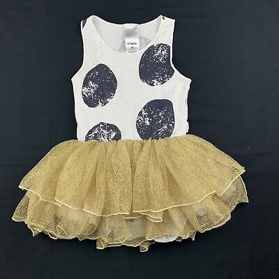 Girls size 1, Bonds, tutu romper dress, GUC
