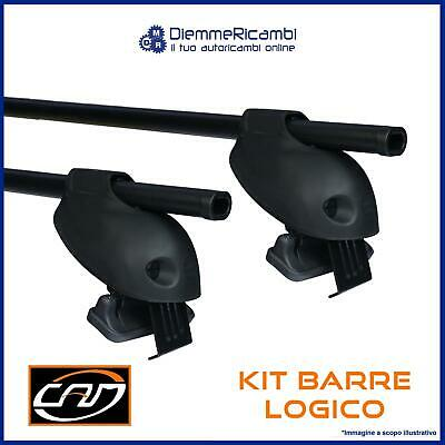 Kit Portatutto + Barre Da Tetto Volkswagen Polo Iv 5 Porte 2001 -> 2009