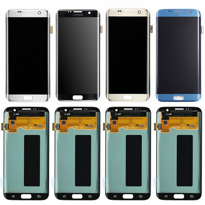 A++ LCD Display Screen Digitizer Assembly Replacement for Samsung Galaxy S7 edge