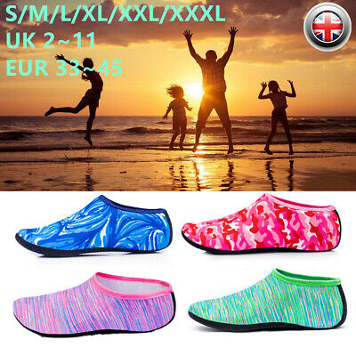 Womens Mens Kids Water Shoes Socks Swim Diving Socks Wetsuit Non-slip Swim Beach