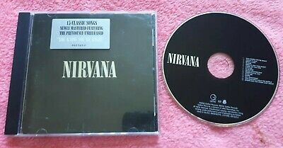 Nirvana - Nirvana Cd 2002 Geffen Grunge Rock Kurt Cobain Dave Grohl Foo Fighters