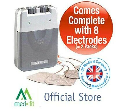 Med-Fit 1 Dual Channel Tens Machine-Fast Effective Pain Relief *VAT FREE*