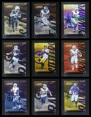 Pick Your Card ~ 2018 Absolute Parallel ~ Pro Jerseys ~ HUGE Stars ~ Fast Ship