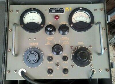 Vintage Bruno Summation Bridge TS-730/URM Communications Meter