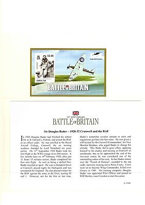 Westminster Coin, 70th Anniversary Battle of Britain Douglas Bader 1928-1932
