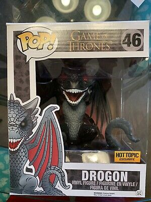 Funko Pop! Game of Thrones: Drogon 6 Inch Brand New In Hand Hot Topic Exclusive