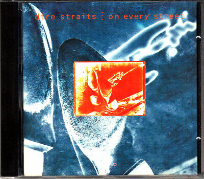 "Cd Album  Dire Straits  ""On Every Street"""