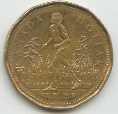 Canada 2005 Loonie Canadian $1 Terry Fox Commemorative Dollar EXACT COIN SHOWN
