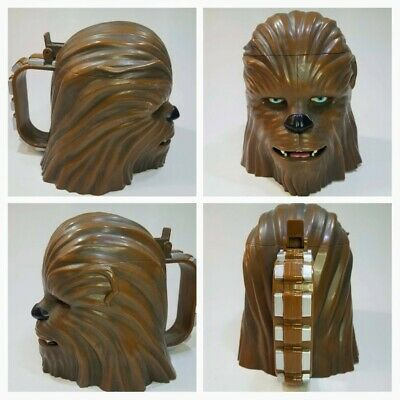 Disney Parks Disneyland 2015 Star Wars the Force Awakens CHEWBACCA Stein Mug Cup