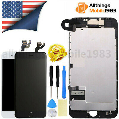 For iPhone 6 6S 7 8 Plus LCD Touch Screen Full Replacement With Button & Camera