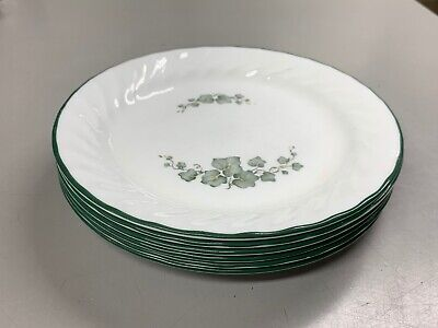 Corelle Callaway Ivy Set of Six Salad / Bread and Butter Plates - Swirl 7.25''