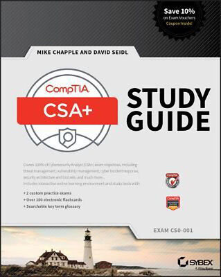 CompTIA CySA+ by David Seidl and Mike Chapple (2017)