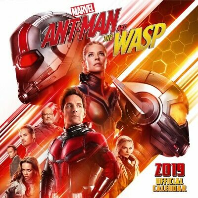 Ant-Man And The Wasp - Movie Poster Official Calendar 2019 (12x12in) #117295