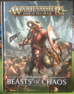 BATTLETOME BEASTS OF Chaos Limited Edition Warhammer Age of