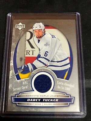 2006-07 McDonald's Upper Deck Jerseys #JDT Darcy Tucker /100 Toronto Maple Leafs