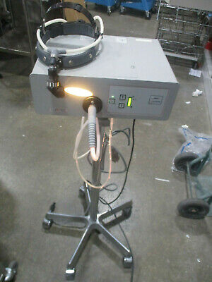 Luxtec Series 3000 Light Source Model 3150AS w/ Stand and Headlamp