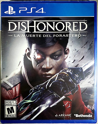 Dishonored: The Death of the Outsider PS4 (Sony PlayStation 4, 2017) Brand New
