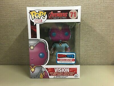 Funko Pop Marvel - Avengers: Age Of Ultron - Vision Phasing #71 Target Exclusive