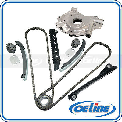 Timing Chain Kit+Oil Pump Fits 02-04 Ford E150 F150 350 Expedition Excursion 5.4