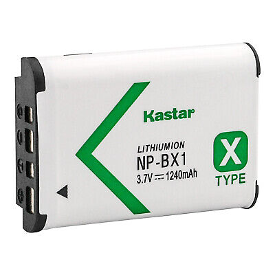 Kastar Li-ion Battery for Sony NP-BX1 NPBX1 Sony Cyber-Shot DSC-RX100 RX100 RX1