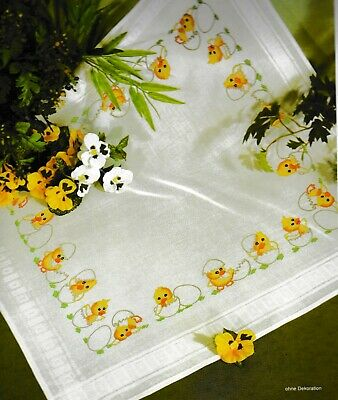"""""""Easter"""" Tablecloth Kit for Embroidery Schafer 6706"""