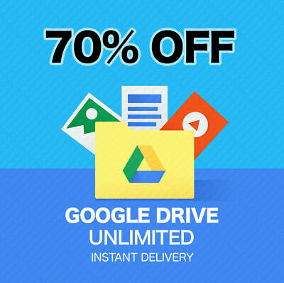 Google Drive Unlimited Lifetime Storage Not Edu - Buy1+Free1, Buy2+Free3.! Promo