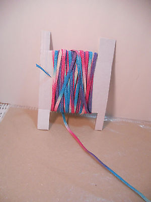 """10 Yards Doll Millinery Paper Hat Straw Navy Blue 1//4/"""" Bleuette Ginny /& Others"""
