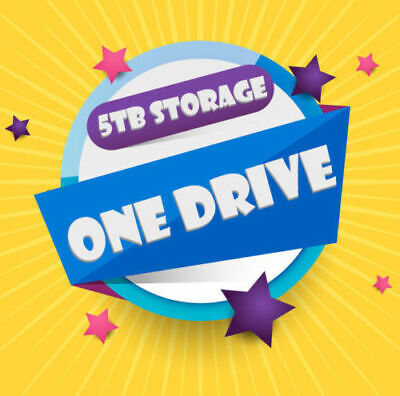Onedrive 5TB License - Custom name - PROMOTION !!!! HOT DEAL