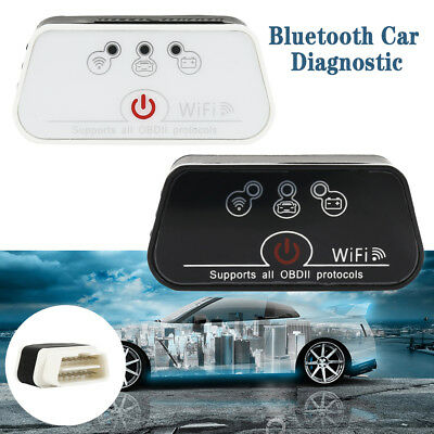 ELM327 Wifi OBD2 Scanner OBDII Diagnostic Tool Code Reader For IOS Android .