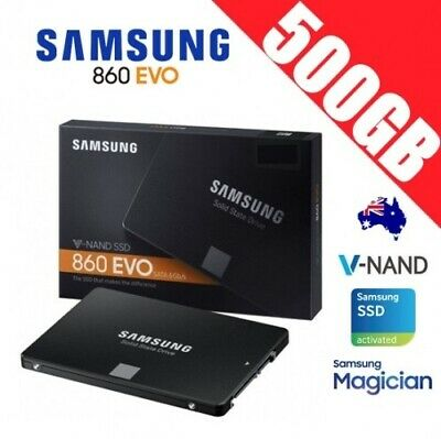 "Samsung SSD 860 EVO 500GB 2.5"" Solid State Drive Disk PC Laptop Notebook"