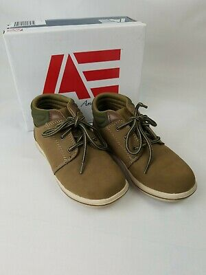 Boys American Eagle AE Mid Causal Brown Sport Size 1 Shoe