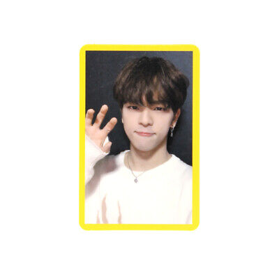 [STRAY KIDS]Cle 2:Yellow Wood/Side Effects/Official Photocard/YELLOW-WOOJIN
