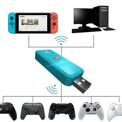 N100 PLUS NS Wireless Bluetooth Adapter Converter for PS4 Switch Xbox One we7